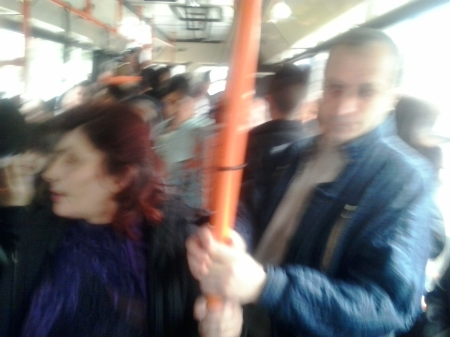 autobuzul 2 Bascov - Arpechim plin de tiganci